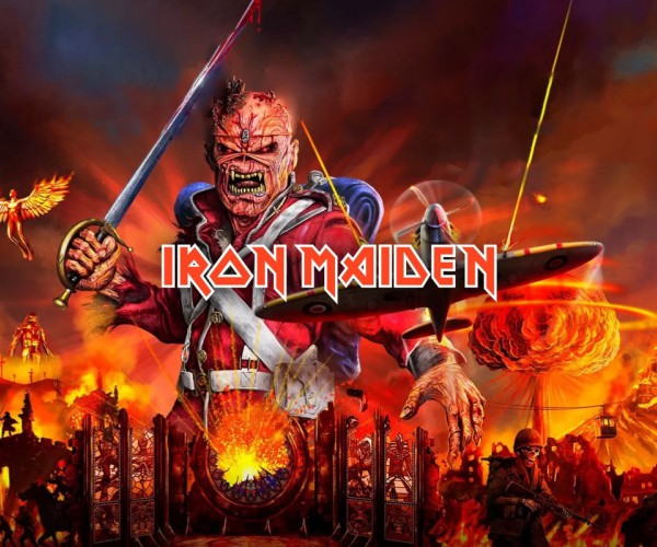 Iron Maiden - Saturday 10...