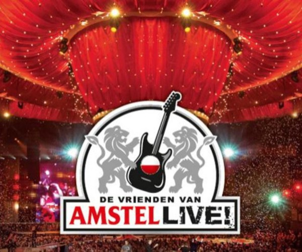 The friends of Amstel Live...