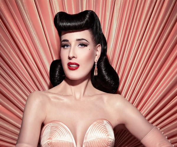Dita von Teese - Saturday...
